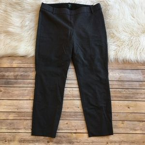 J Crew Pants Straight Ankle Wool Blend City Fit